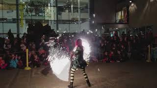 Halloween Fire Sparkle Ropes Dance Moonwalk