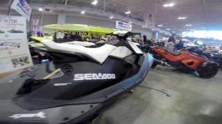 6. 2014 Sea Doo Spark Rotax 900 ACE