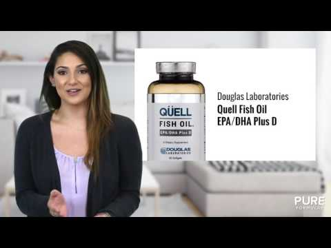 Quell Fish Oil EPA DHA Plus D by Douglas Labs