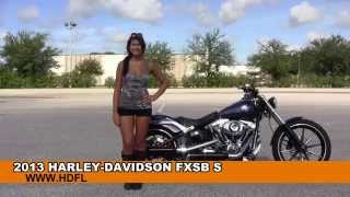 3. Used 2013 Harley Davidson Softail Breakout Motorcycles for sale