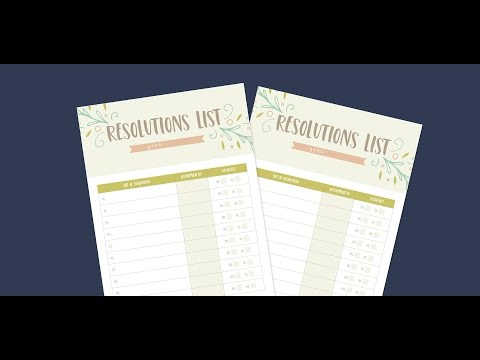 Create A Resolutions List In Adobe Illustrator