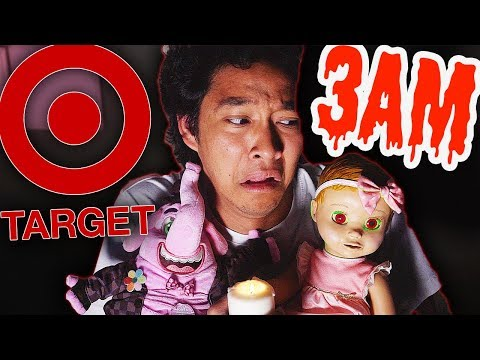 3AM Creepy Target Toys Unboxing!