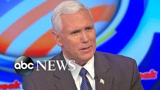 Mike Pence FULL INTERVIEW on This Week with George Stephanopoulos