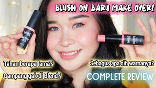 Video REVIEW DETAIL blush on terbaru! MAKE OVER Multifix Matte Blusher - tahan berapa lama..? #BLUSHFIXUP MP3, 3GP, MP4, WEBM, AVI, FLV Januari 2019