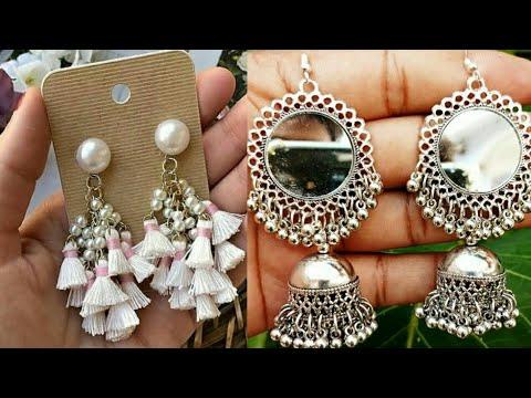 Latest jhumka Fashion 2019//Jhumka earrings design//Gold jhumka earring//Fashion Trend of jhumka