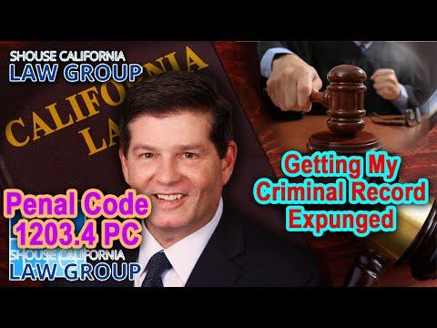 California Penal Code 1203.4