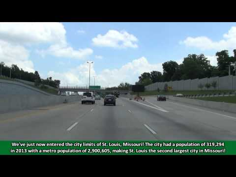 2K14 (EP 15) Interstate 64 East in St. Louis, Missouri