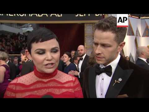 Ginnifer Goodwin remembers 'Big Love' co-star Bill Paxton on Oscars red carpet