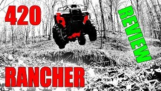 8. HONDA RANCHER 420 REVIEW