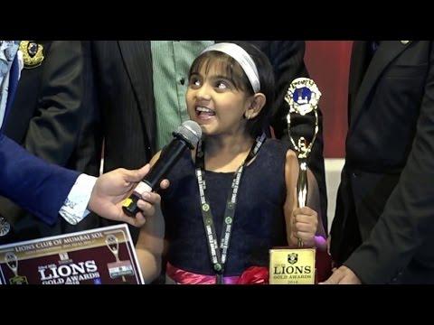 Naamkarann child actor Arsheen Namdar at Lions Gol