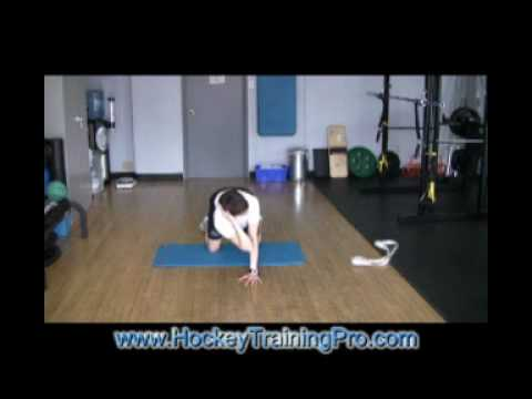 Off Ice Hockey Training: Stretching Routine Part Two