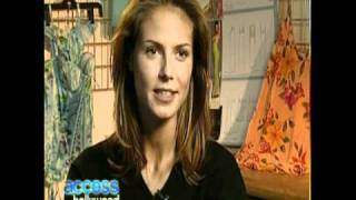 HEIDI KLUM AT 18 YEARS OLD - BIO & INTERVIEW & GETS HER FLIRT ON WITH BILLY - 2010 - VOB