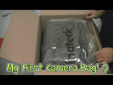 Inateck Dual Layer Camera Backpack Unboxing and Review