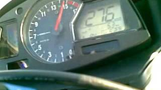 4. Honda CBR 600RR 2009 C-ABS Top speed 280km/h
