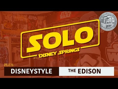 Flying SOLO @ Disney Springs | New Merchandise, New Store, & Bacon