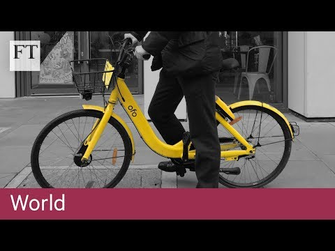 Is this the last Ofo bike in London?