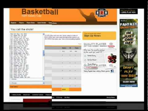 Head2Head Fantasy Basketball: How it Works!