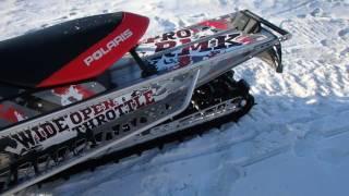 8. 2011 Polaris Pro RMK 800 Snowmobile