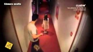 Spooky Girl Terrifies Hotel Guests on MSN Video