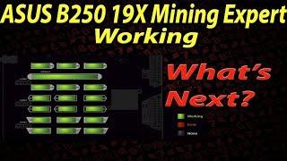 Live VLOG #63 - ASUS B250 Mining Expert + AMD RX Mining Cards & Nvidia P106 Mining Card Mix