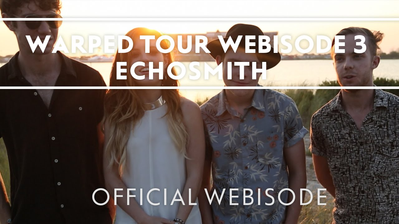Echosmith – Vans Warped Tour Recap Episode 3 [Webisode]