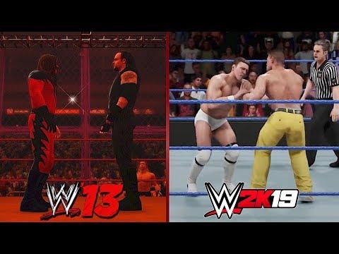 The Evolution of Showcase Mode in WWE Games! (WWE '13 - WWE 2K19)
