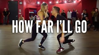 Video MOANA - How Far I'll Go | Kyle Hanagami Choreography MP3, 3GP, MP4, WEBM, AVI, FLV April 2018