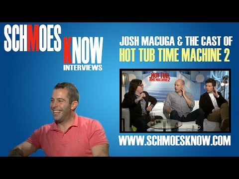 Josh Macuga Interviews the Cast of Hot Tub Time Machine 2