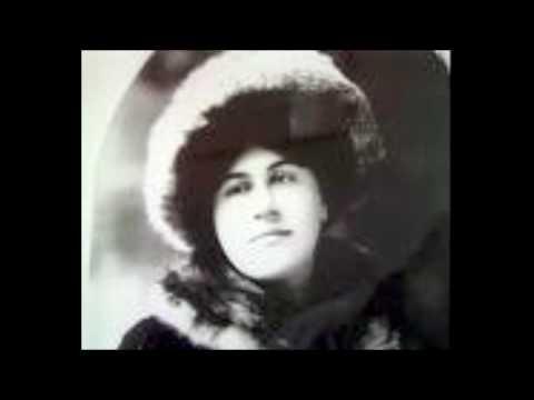 """Emmy Destinn sings Franz Schubert """"Wiegenlied"""", D. 498, op. 98 No. 2"""