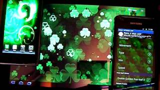 Shamrock Live Wallpaper YouTube video