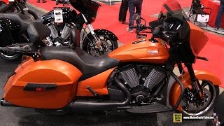 9. 2017 Victory Cross Country - Walkaround - 2017 Toronto Motorcycle Show