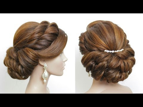 New hairstyle - New Bridal Hairstyle 2019 For Girls. Latest Party Hair Tutorial