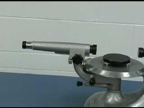 spectrometer - Spectrometer operation.