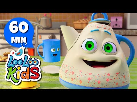 I'm a Little Teapot – Amazing Songs for Children | LooLoo Kids