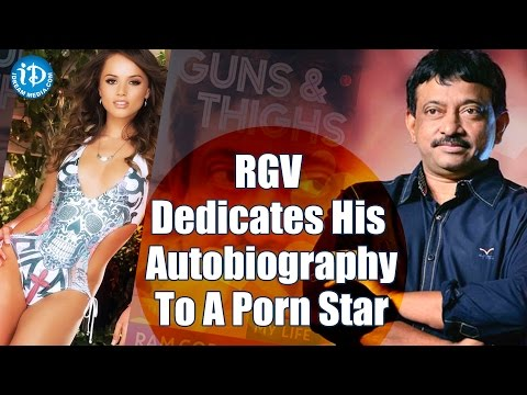 RGV Dedicates His Autobiography To Porn Star Tori Black