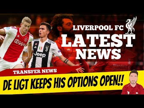 De Ligt Update On His Future, Liverpool Look At Turkish GK | Liverpool Transfer News
