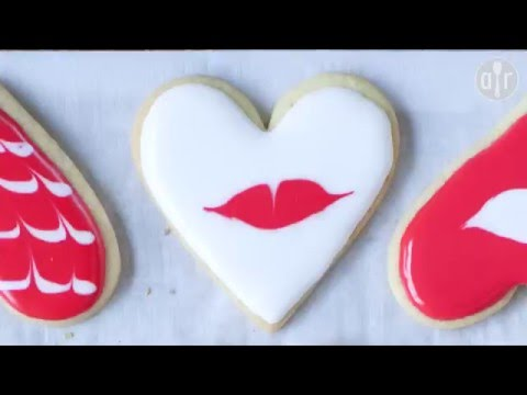biscotti di san valentino - la  videoricetta
