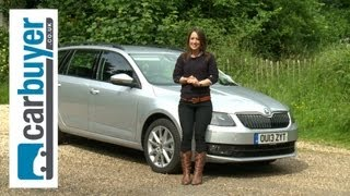 1. Skoda Octavia estate 2013 review - Carbuyer