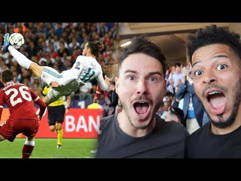 GARETH BALE'S WONDER BICYCLE KICK! | CHAMPIONS LEAGUE FINAL | Real Madrid VS Liverpool