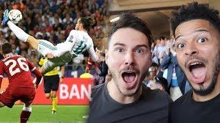 Video GARETH BALE'S WONDER BICYCLE KICK! | CHAMPIONS LEAGUE FINAL | Real Madrid VS Liverpool MP3, 3GP, MP4, WEBM, AVI, FLV Agustus 2018