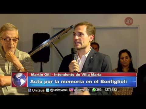Acto por el Día de la Memoria en el Bonfiglioli