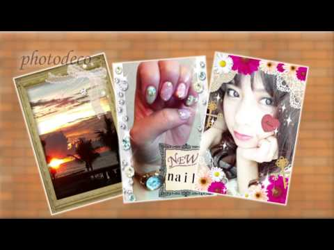 Video of Let's decorate on your photo♪