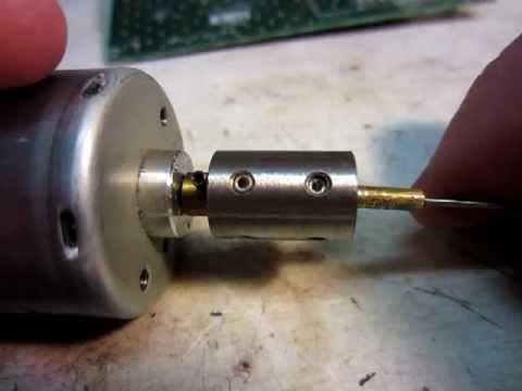 DIY home made circuit board (PCB) drill