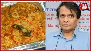 Dead Lizard In Veg Biryani Served On Train, Passenger Tweets Suresh Prabhu