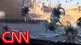 For more than 28 hours, CNN's Arwa Damon and photojournalist Brice Laine were with Iraqi special forces during their push into ...