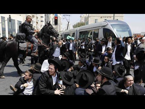 Israel: Streit um Wehrpflicht in Israel - Proteste ge ...