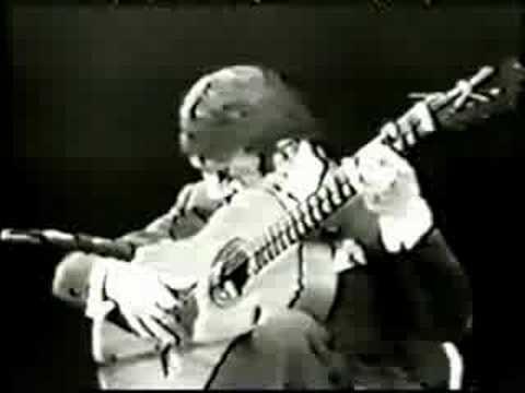 Rare Flamenco Guitar Video: Sabicas – Farruca