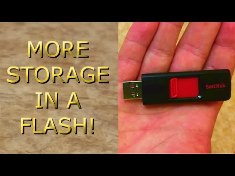 USB Flash Drive Review! The SanDisk Cruzer