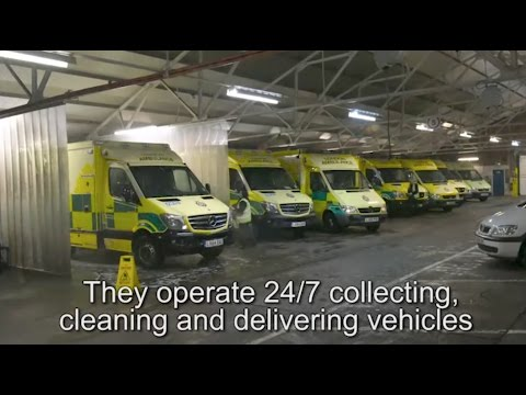 How Do You Clean And Equip 300 Ambulances In A Day?