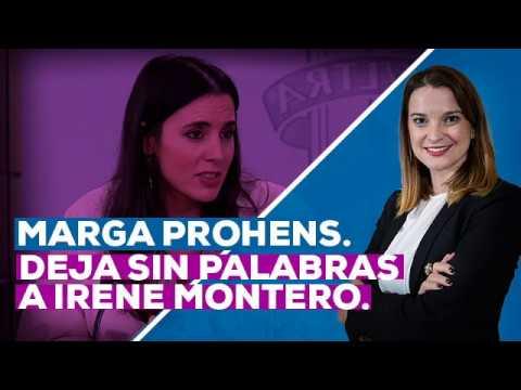 Marga Prohens deja sin palabras a Irene Montero